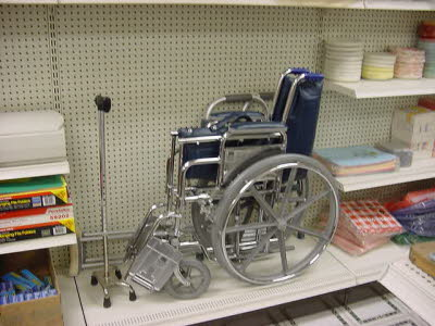 Wheelchair & Cane