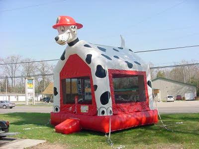 Dalmation Bounce House